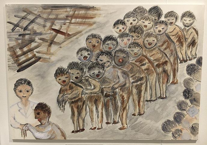 japanese art hiroshima bombing