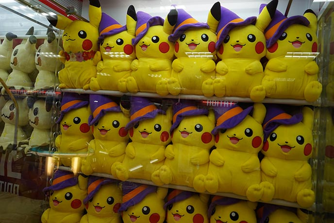 witch halloween pikachu toys plush