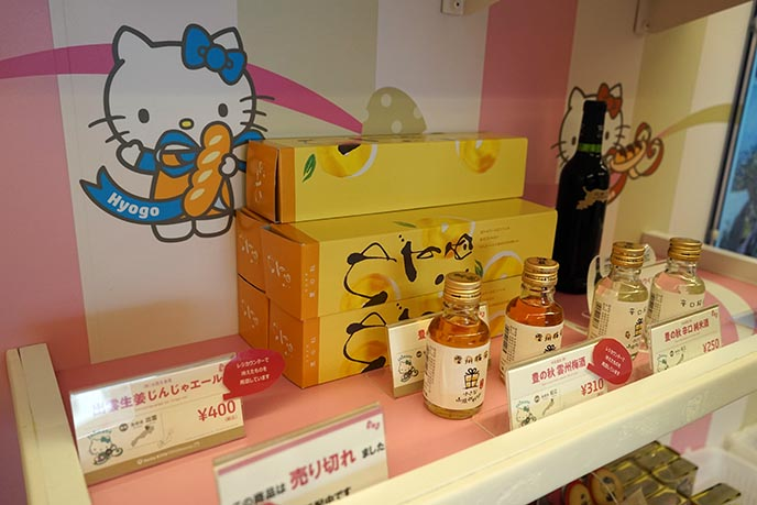 hello kitty japan limited edition train shop gifts