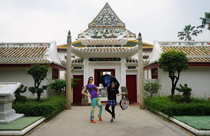 buddhist architecture bangkok