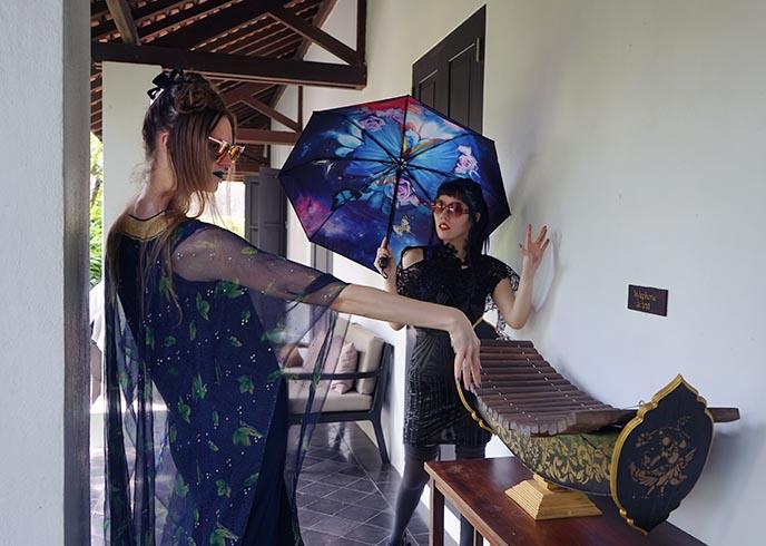 老挝乐器木琴