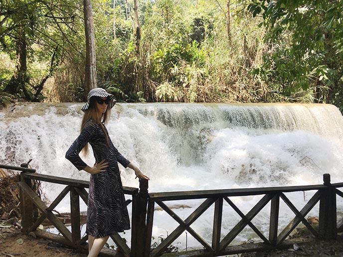 kuangsi falls luang prabang