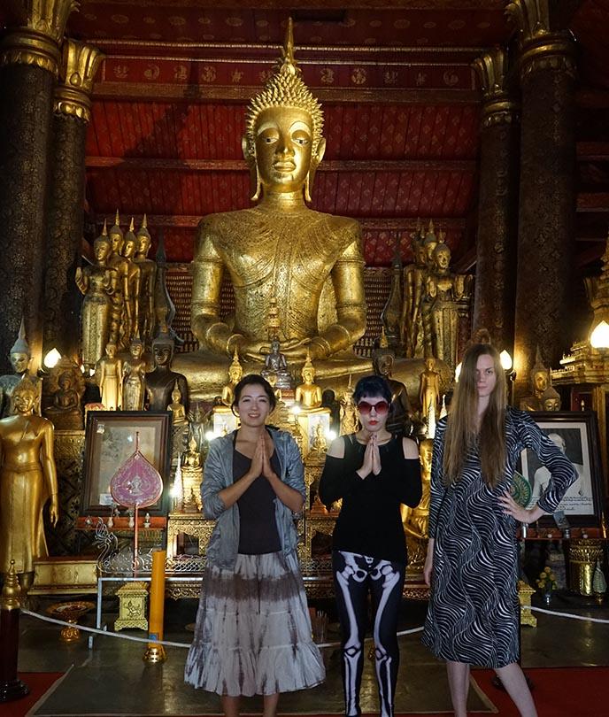 laos buddhist temples buddha