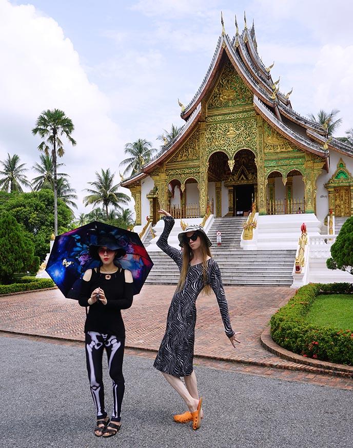 Haw Pha Bang Buddhist temple, Luang Prabang
