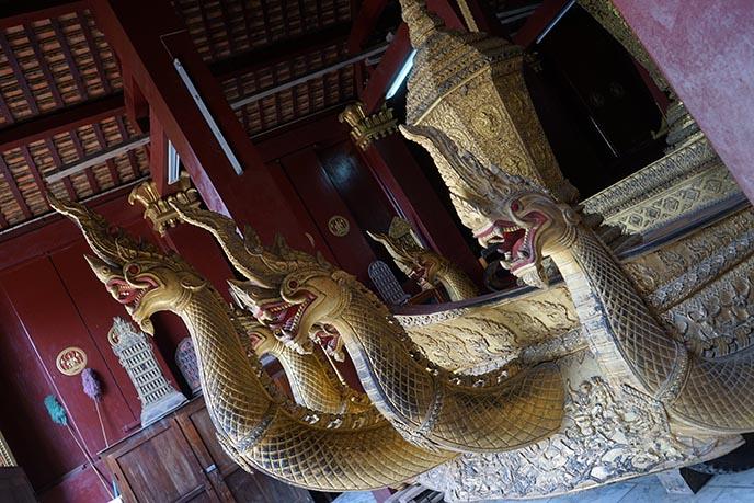 Wat XiengThong gold ship