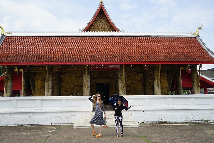 Wat Mai Suwannaphumaham temple Luang Prabang