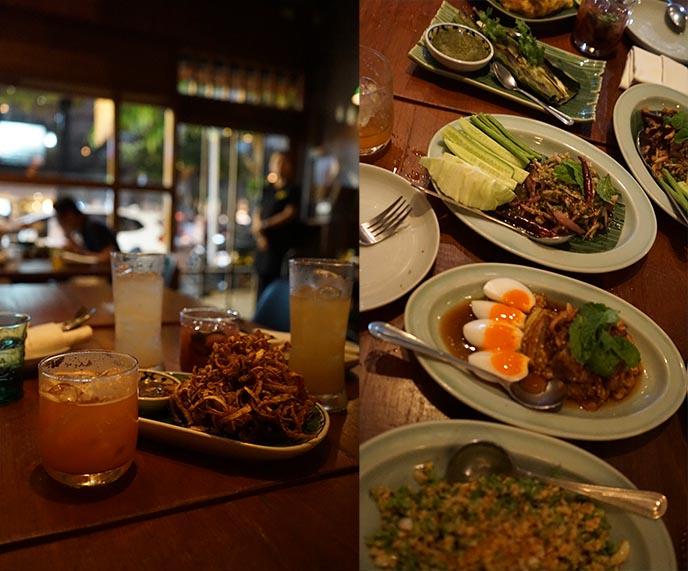 food menu Soul Food Mahanakorn bangkok