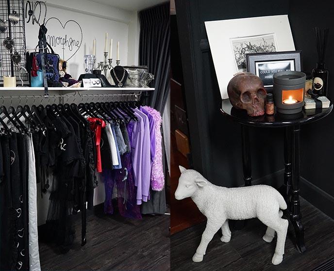 morphine stores studio thailand goth