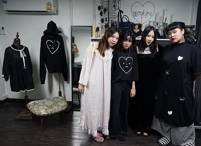 morph8ne clothing designers
