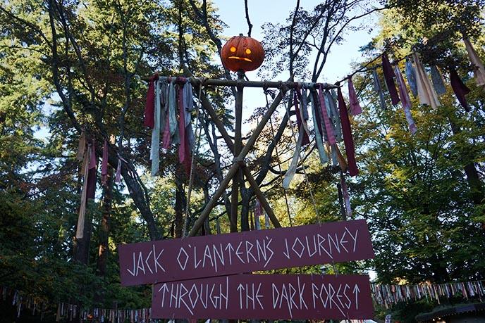 stanley park jack o'lantern's journey