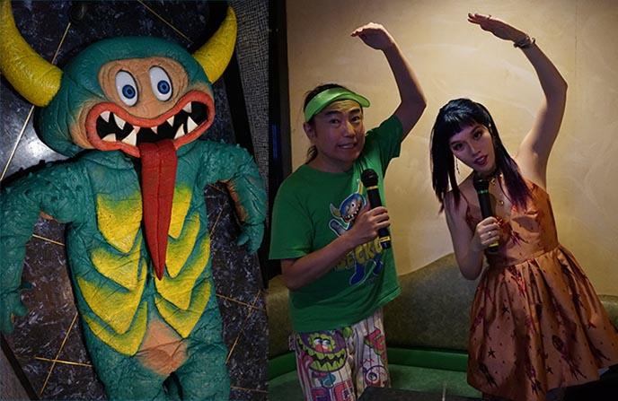 karaoke singing weird tokyo japan