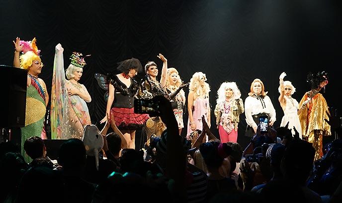 drag queen show tokyo japan