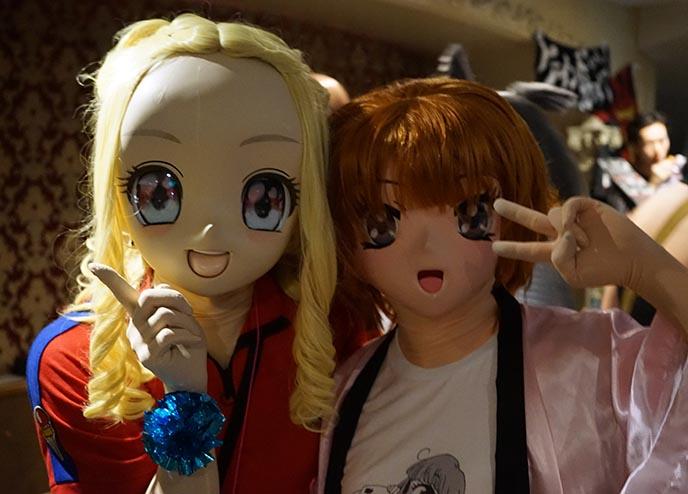 giant anime masks kigurumi