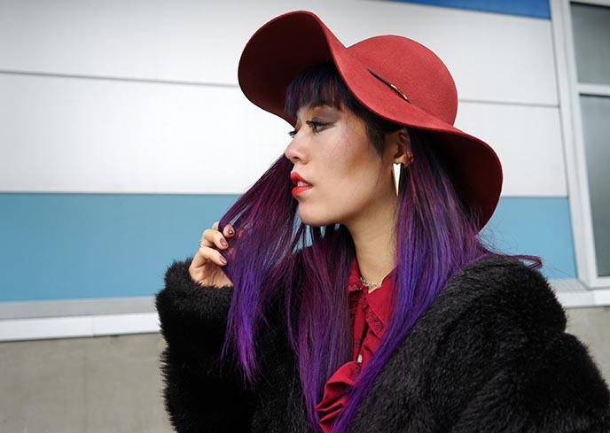 alex streeter silver earring sci-fi, 10th st hats