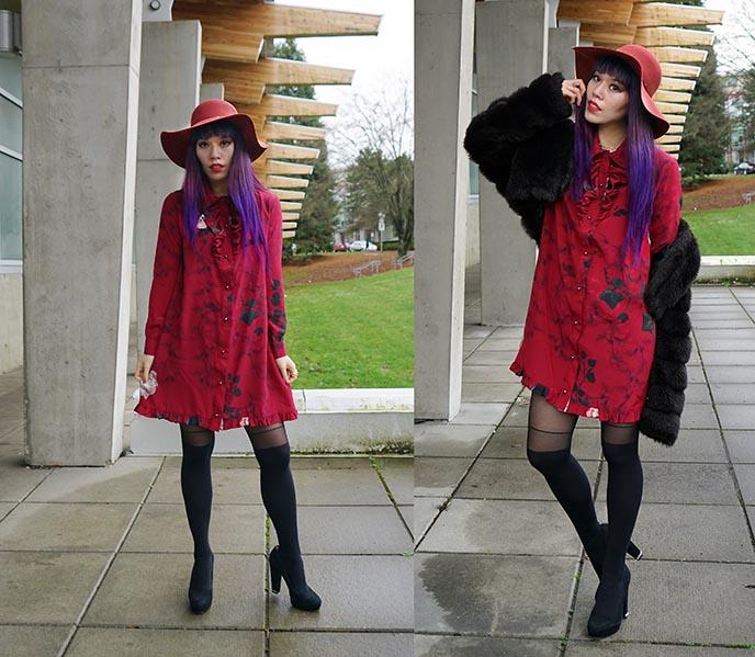 scala sydney red floppy hat