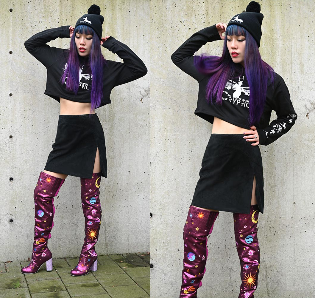egypt gothic streetwear cairo fashion blogger