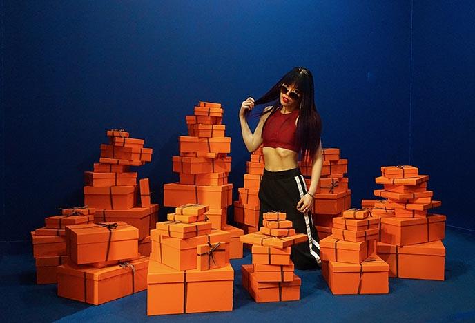 charli cohen sports bras fitness fashion