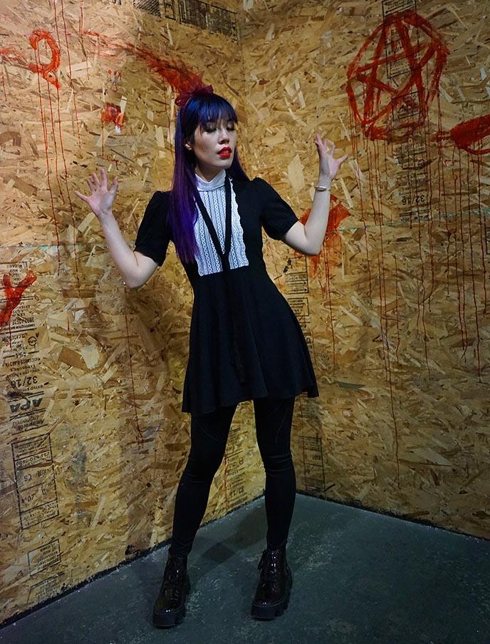 forest ink goth fashion, valfre jolie dress