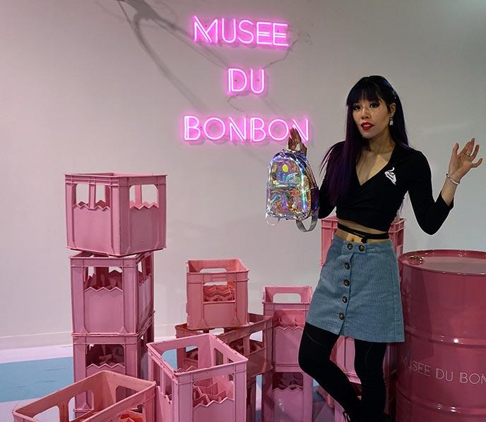 musee du bonbon, instagram backdrops walls