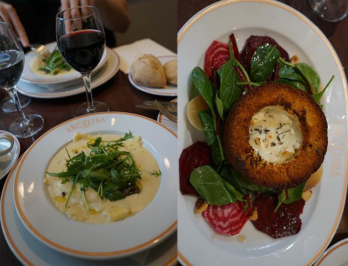 Angelina Galeries Lafayette餐厅食品葡萄酒