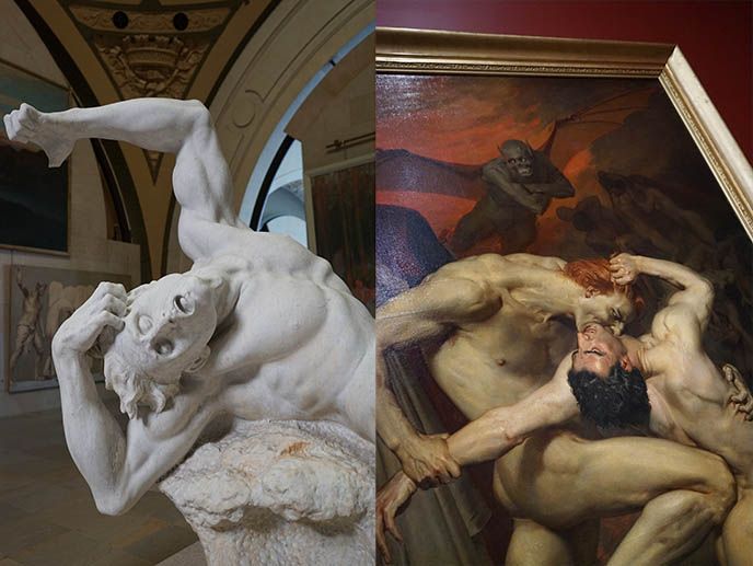 french art tortured poses vampires