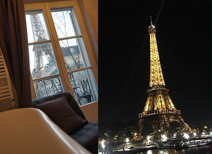 eiffel tower view apartment parisperfect