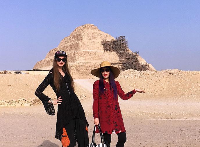 ancient egyptian oldest pyramid saqqara