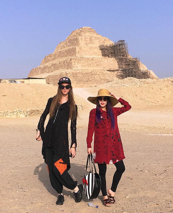 step pyramid djoser sakkara
