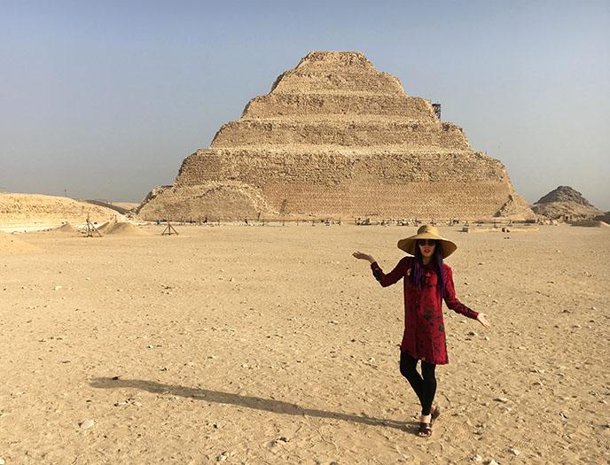 pyramid of Zoser djoser cairo