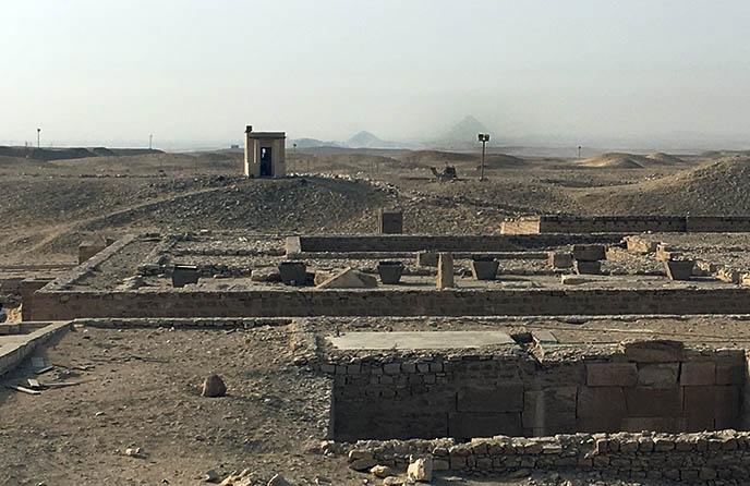 archaeological ruins cairo egypt
