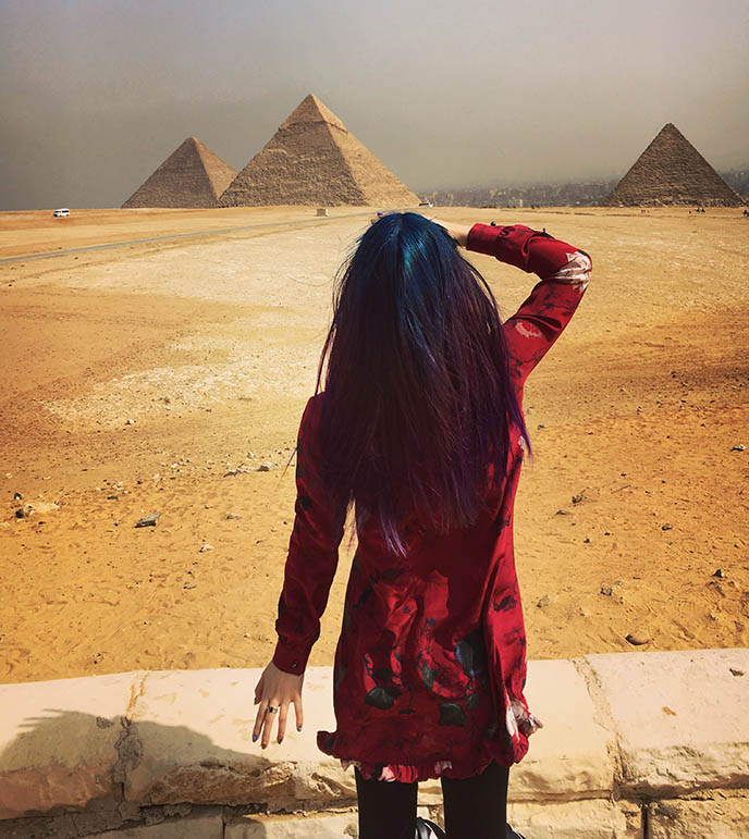 egypt instagram travel blogger girl