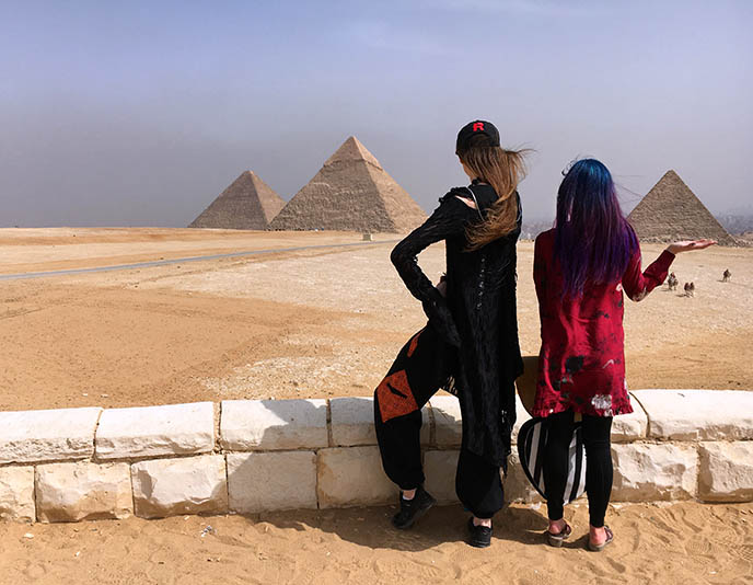 great pyramids giza viewpoint