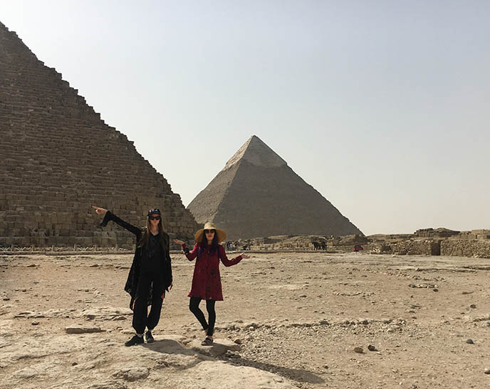 young travelers tour egypt
