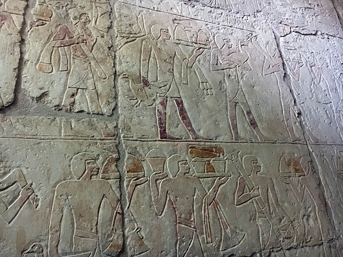ancient egyptian wall carvings art