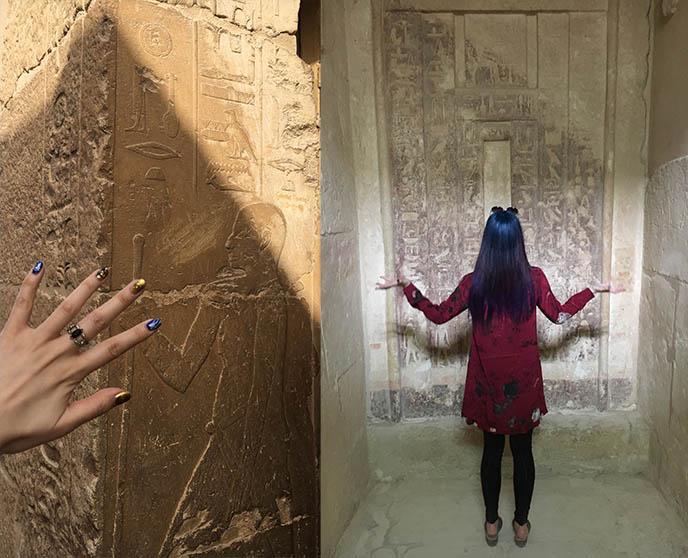 cairo egypt tomb raider girl