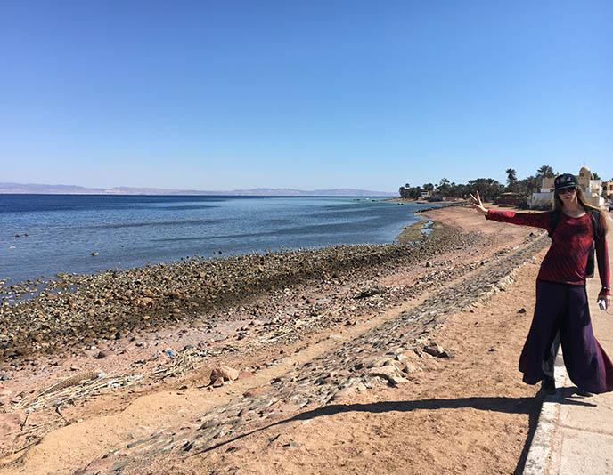 dahab egypt beaches sea