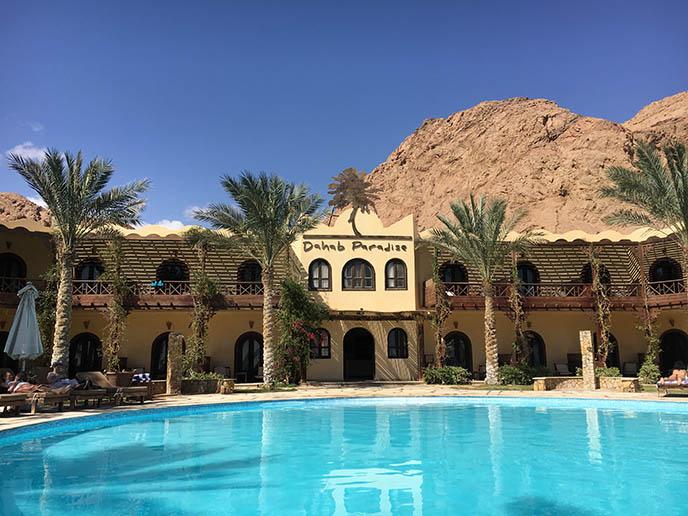 dahab paradise hotel review pool