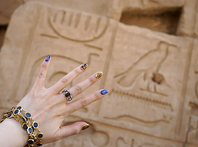 hieroglyphic jewelry egypt ring designs