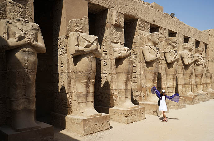 karnak temple amun ra rams