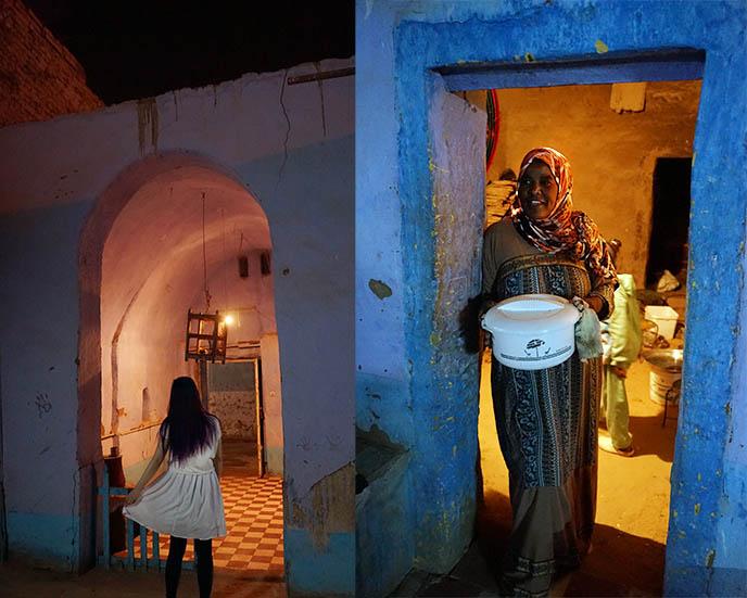 luxor nubian culture village dinner