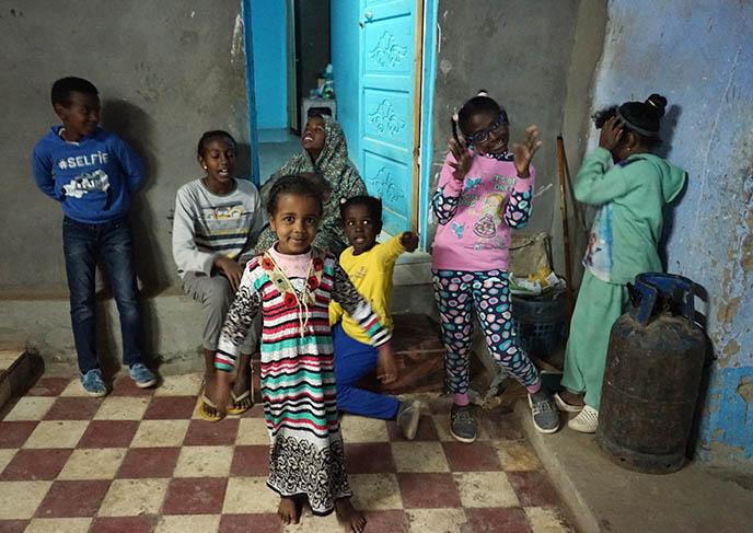 nubian egypt children kids
