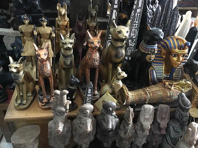cat statue souvenirs egypt