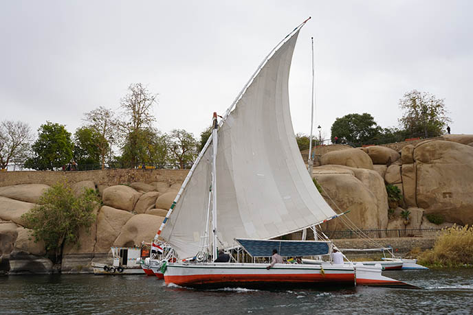 felucca tour nile river egypt