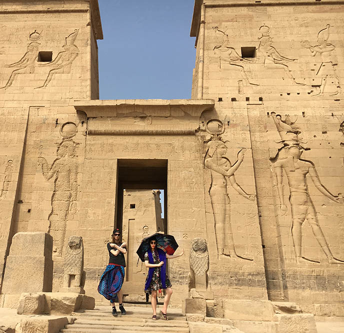 temple of philae outside exterior
