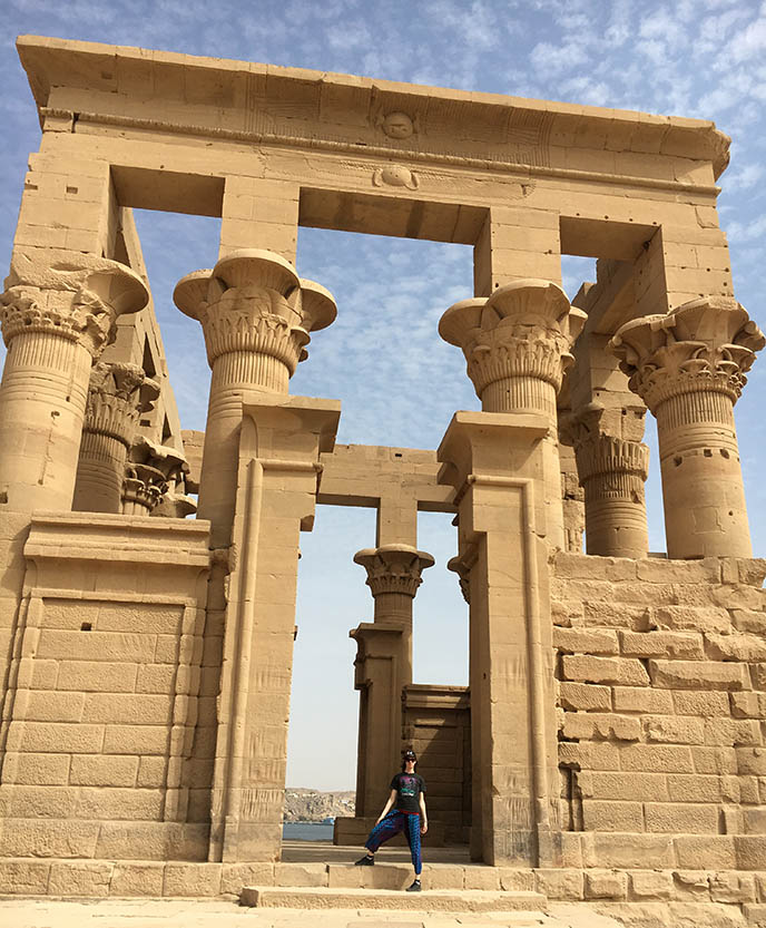 aswan dam temples moved reconstructed