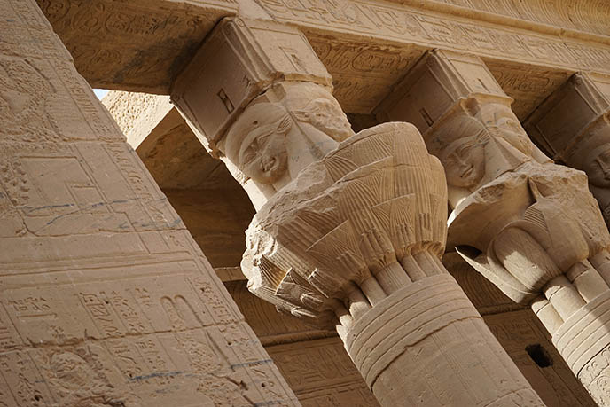 philae temple isis worship egypt