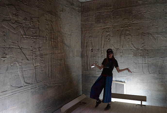 Temple to Isis, Horus and Osiris on Philae Island