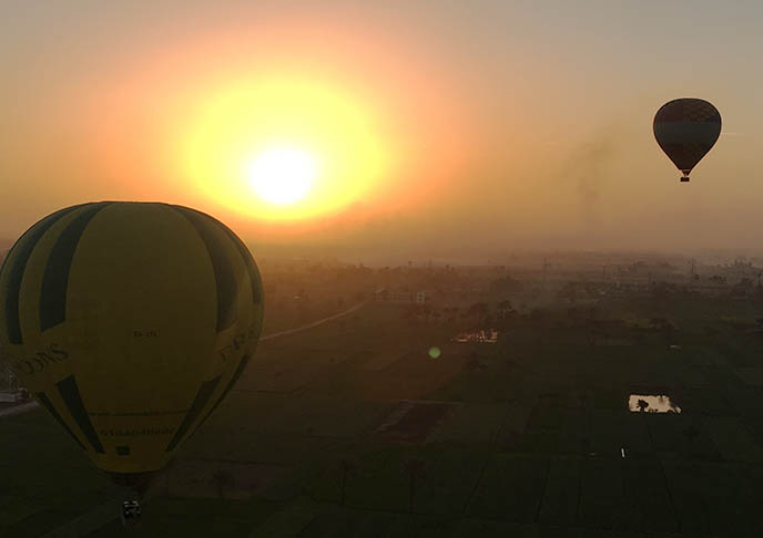 egypt hot air balloon rides