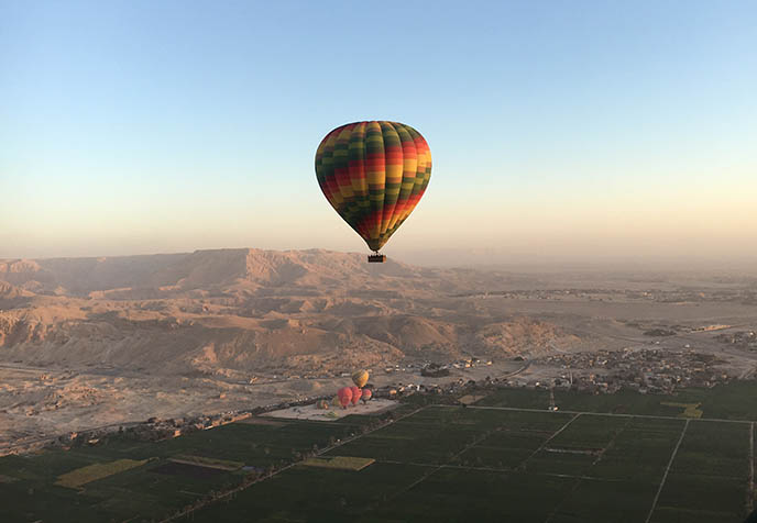 hot air balloon luxor safety