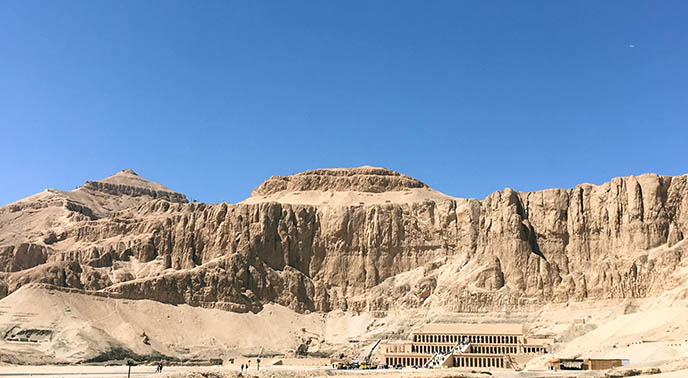 valley of kings egypt mountains rock